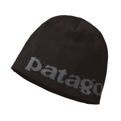 Men's Beanie Hat - Logo Belwe: Black