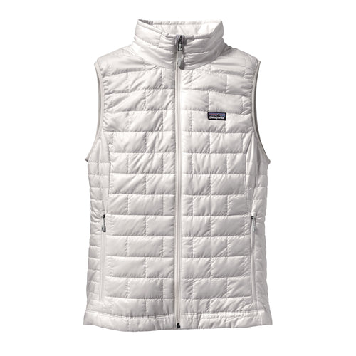 Women's Nano Puff Vest - Birch White