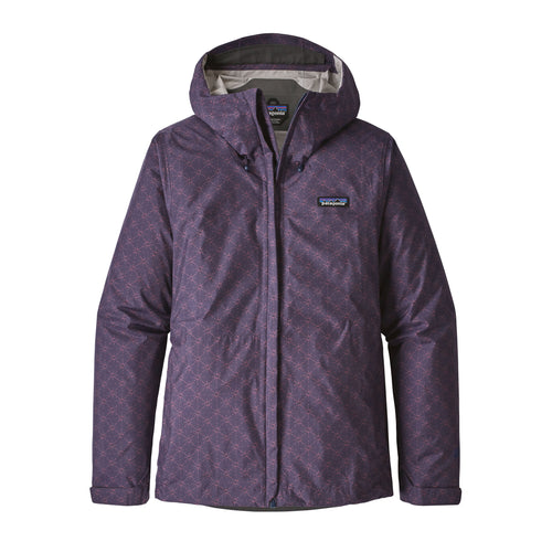 Women's Torrentshell Waterproof Rain Jacket - Solar Pow: Classic Navy