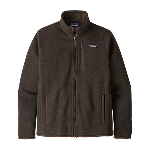Men's Better Sweater® Jacket - Logwood Brown