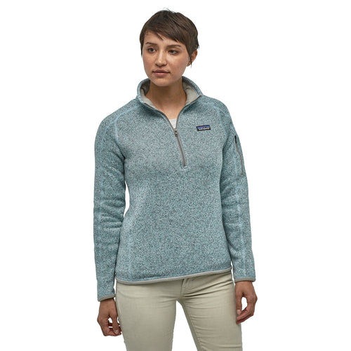 Women's Better Sweater 1/4 Zip - Hawthorne Blue
