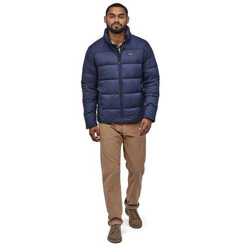 Men's Silent Down Jacket - Classic Navy