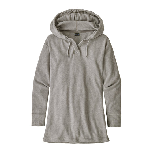 Women's Hooded Waffle Tunic - Drifter Grey