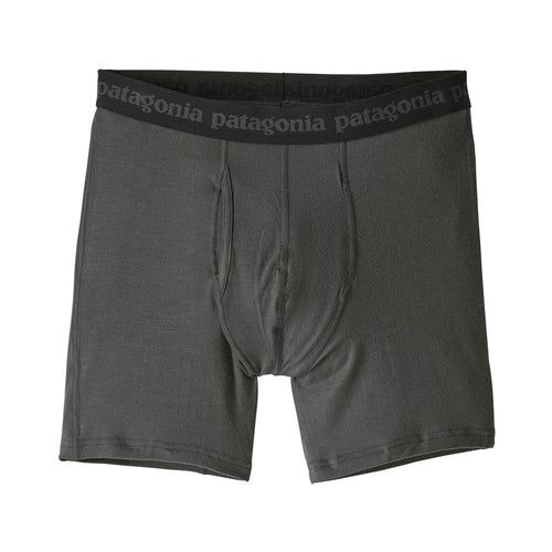 "Men's Essential Boxers Brief 6"" - Forge Grey"