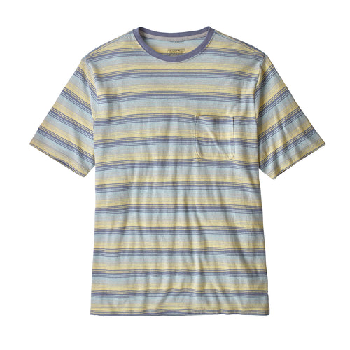 Men's Trail Harbor Pocket Tee - Sandy Cape: Ghost Purple