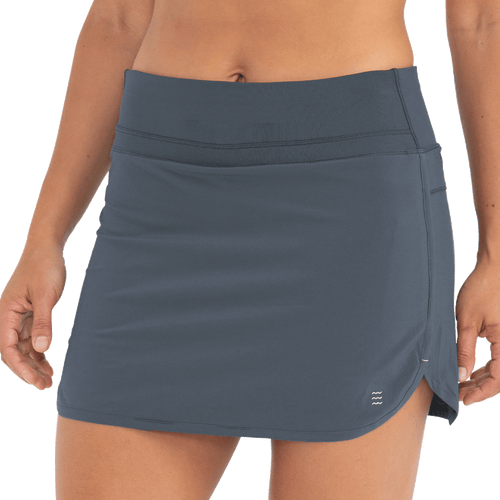 Women's Bamboo-Lined Breeze Skort - Blue Dusk II