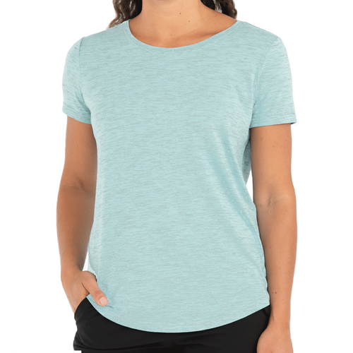 Women's Bamboo Current Tee - Tide Pool