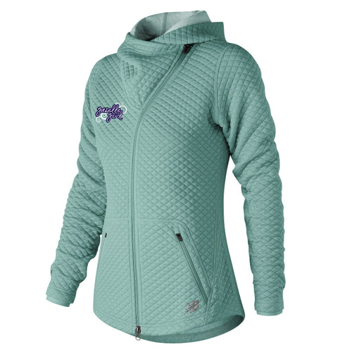 Women's Gazelle Girl Heat Loft Asym Jacket - Mineral Sage