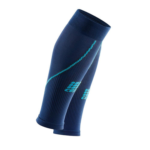 Women's Prog+ Compression Calf Sleeves 2.0 - Deep Ocean/Hawaii Blue