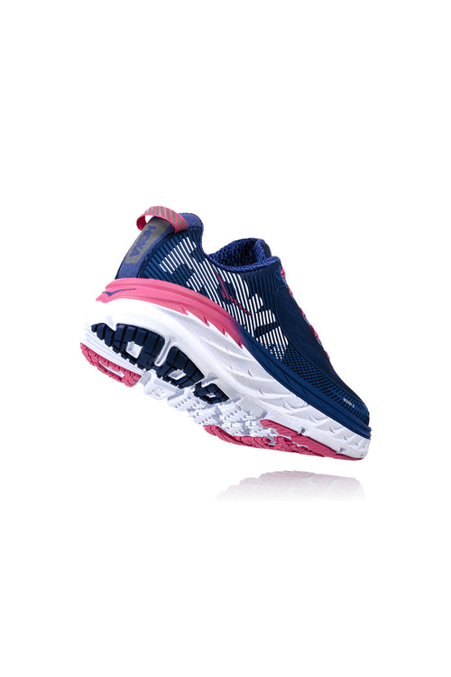 Women's Bondi 5 Running Shoes - Blueprint/Surf the Web