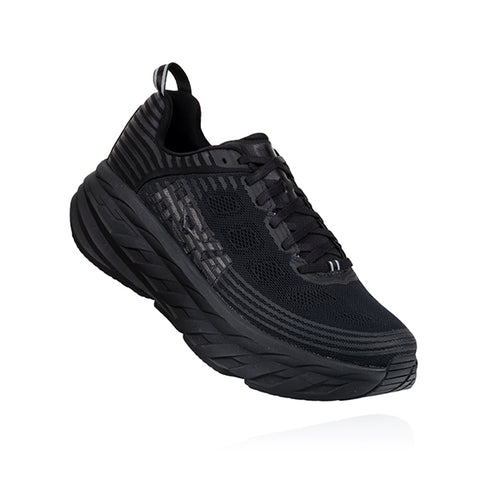 Women's Bondi 6 Running Shoe - Black/Black