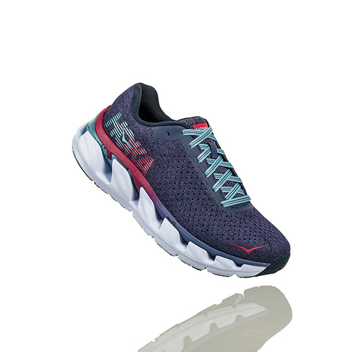 Women's Elevon Running Shoe- Marlin/Blue Ribbon