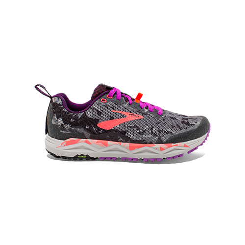 Women's Caldera 3 Trail Running Shoe - Black/Purple