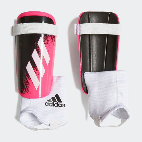 Youth X Shinguards - Shock Pink/White/Black