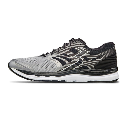 Men's Meraki Running Shoe - Sleet/Black