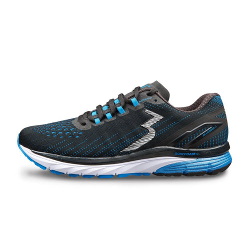 Men's Strata 3 Running Shoe - Black/Jolt