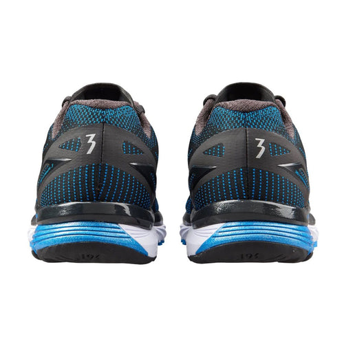 Men's Strata 3 (2E - Wide) Running Shoe - Black/Jolt