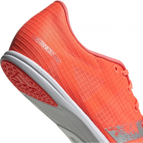 Women's Distancestar Track Spike - Signal Coral/Silver/White