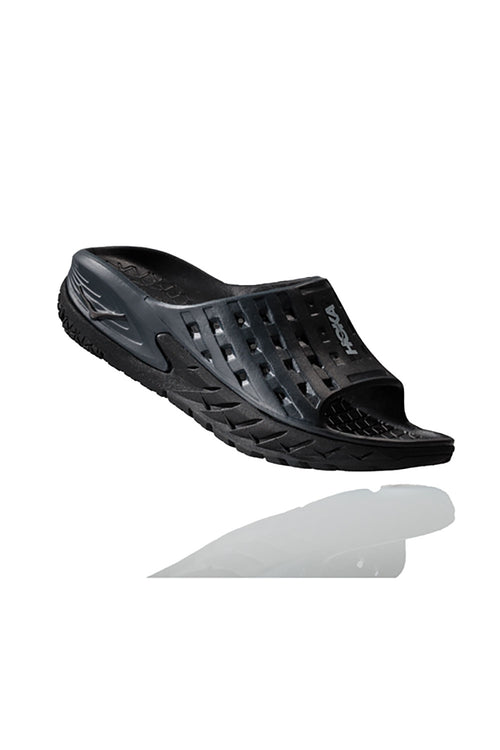 Women's ORA Recovery Slide- Black / Anthracite