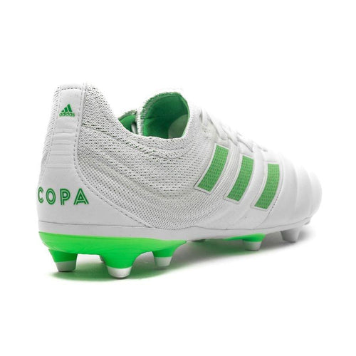 JR Copa 19.1 Firm Ground Cleat - Footwear White/Solar Yellow/Off White