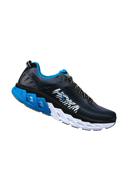Men's Arahi 2 Running Shoe - Black/Charcoal Gray