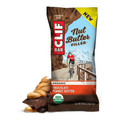 Chocolate Peanut Butter Nut Butter Filled Clif Bar