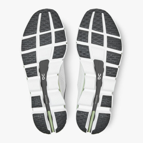 Women's Cloudboom Running Shoe - White/Black