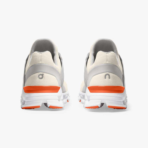 Men's Cloudswift Running Shoes - White/Flame