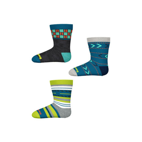 Toddler Trio Socks - Ocean Abyss