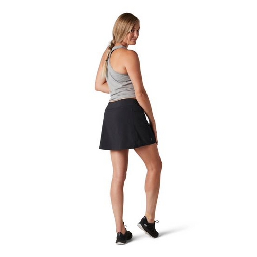 Women's Merino Sport Lined Skirt - Black
