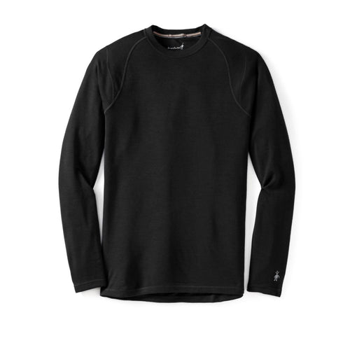 Men's Merino 250 Base Layer Crew Shirt - Black