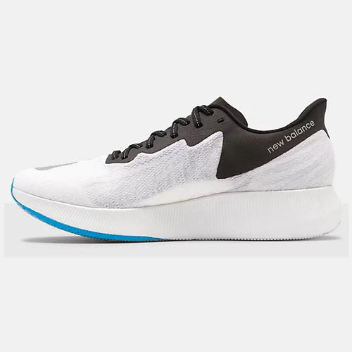 Men's Fuel Cell TC Running Shoe - White with Black & Vision Blue