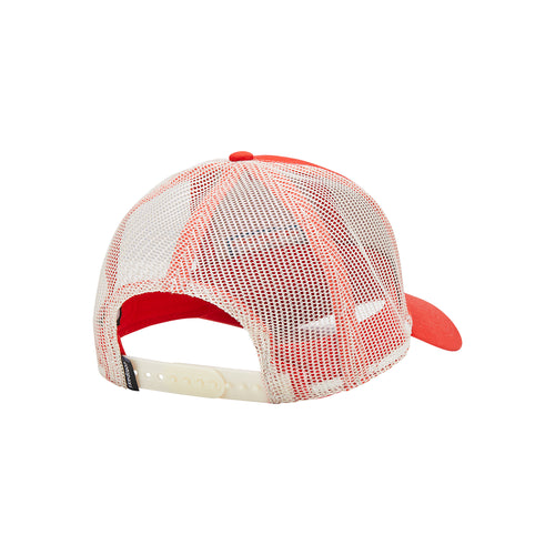 Horizon Trucker Hat - Fiery Red / Cream