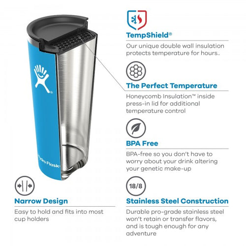 22 oz Insulated Tumbler Cup - Fog