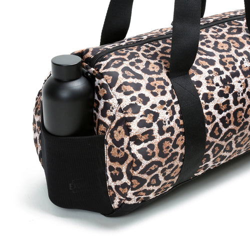 Iconic Barrel Duffel - Cheetah