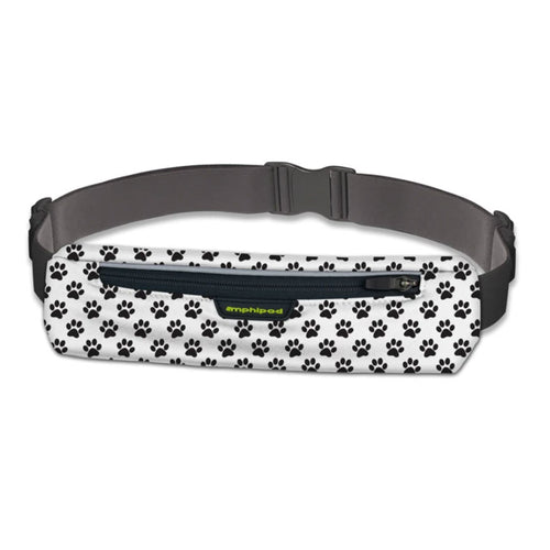 MicroStretch Plus Luxe Belt - White/Black Print
