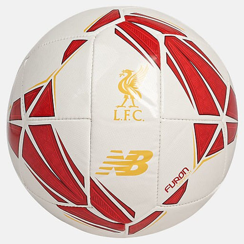 Liverpool FC Dispatch Mini Football - White with Red