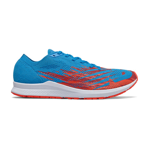 Men's 1500v6 Racing Flat -Vision Blue with Neo Flame