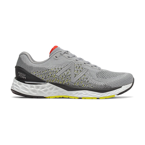 Men's 880v10 Running Shoe - Silver Mink/Lemon Slush