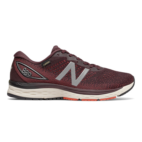 Men's 880 v9 Gore-TEX Running Shoes - Henna/Maroon/Coral Glow