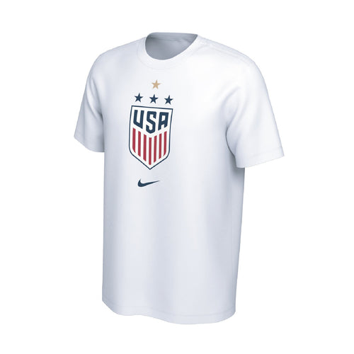 USWNT World Cup Men's USA 4 Star T-Shirt - White