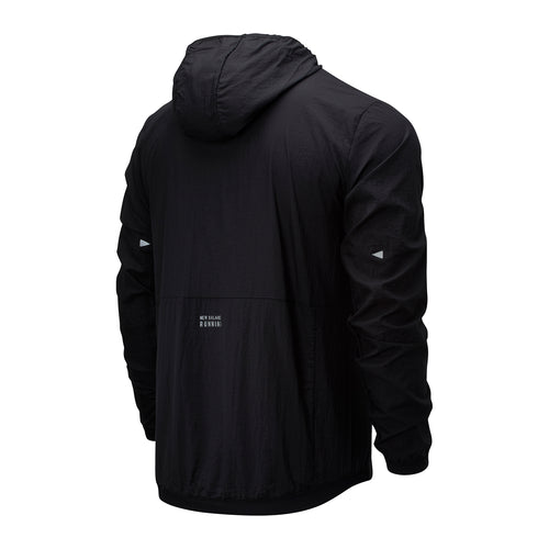 Men's Impact Run Light Pack Jacket - Black