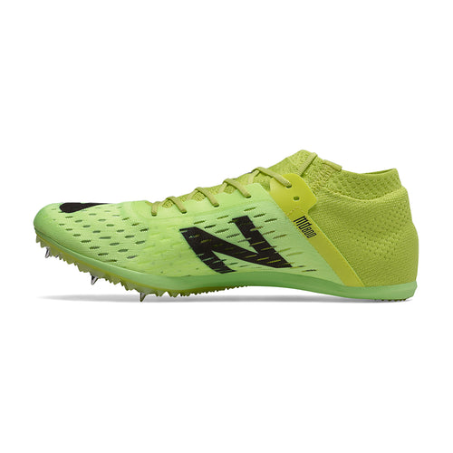 Men's MD800v6 Track Spikes - Sulphur Yellow with Black