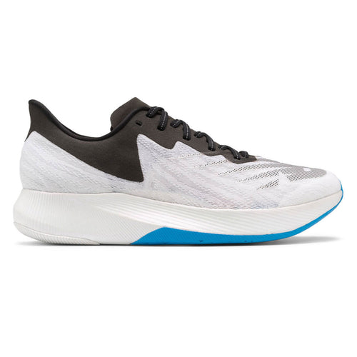 Women's Fuel Cell TC Running Shoe - White with Black & Vision Blue