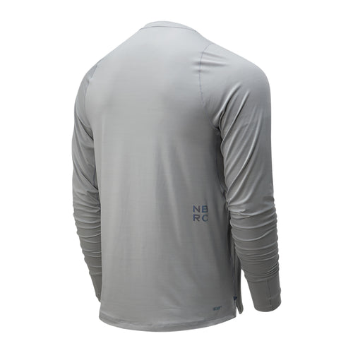 Men's Q Speed Seasonless Long Sleeve Top - Athletic Grey