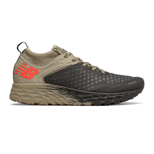 Men's Fresh Foam Hierro v4 Trail Running Shoe - Black/Trench/Alpha Orange