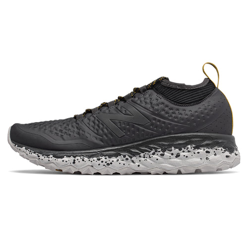 Men's Fresh Foam Hierro v3 Running Shoe - Magnet/Black/Brass