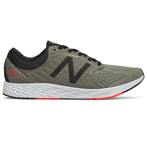 Men's Fresh Foam Zante v4 Running Shoe - Military Urban/Grey/Black/Flame