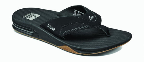 Men's Fanning Sandal - Black/Silver