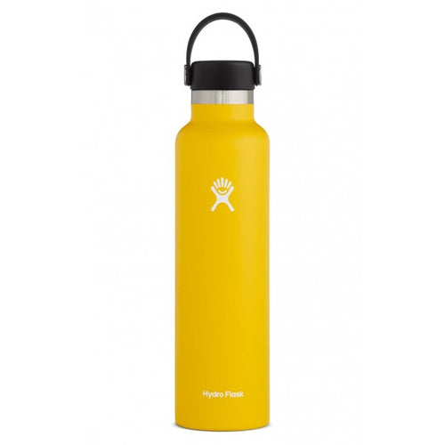 24 oz Standard Mouth Insulated Waterbottle - Sunflower